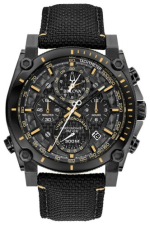 ihocon: Bulova Precisionist Men's Watch 98B318 寶路華男錶