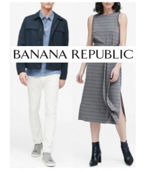 ihocon: Bananarepublic Stripe Ponte Tank Dress女士洋裝