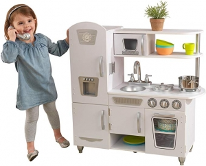 ihocon: KidKraft Vintage Kitchen - White 遊戲廚房