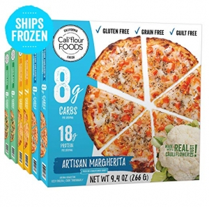 ihocon: Cali'flour Foods Frozen Pizza (Variety Pack, 6 Pizzas)