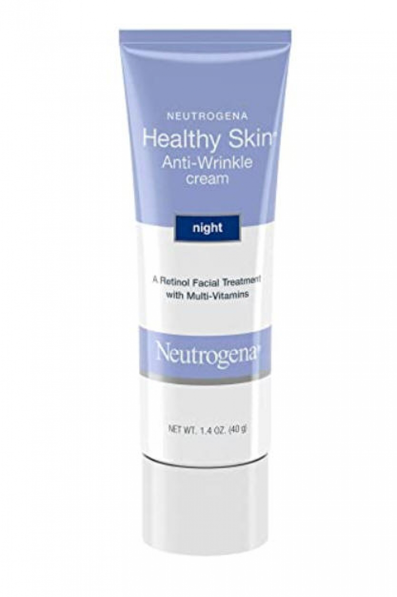 ihocon: Neutrogena Healthy Skin Anti-Wrinkle Retinol Night Cream with Vitamin E and Vitamin B5, 1.4 oz 露得清抗皺晚霜