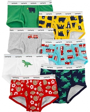 ihocon: Carter's Boys' Little 7-Pack Underwear 100%純棉內褲