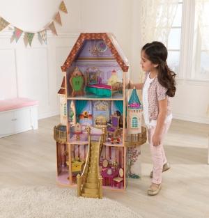 KidKraft 迪士尼公主Belle 娃娃屋 $62.99(原價$149.99)