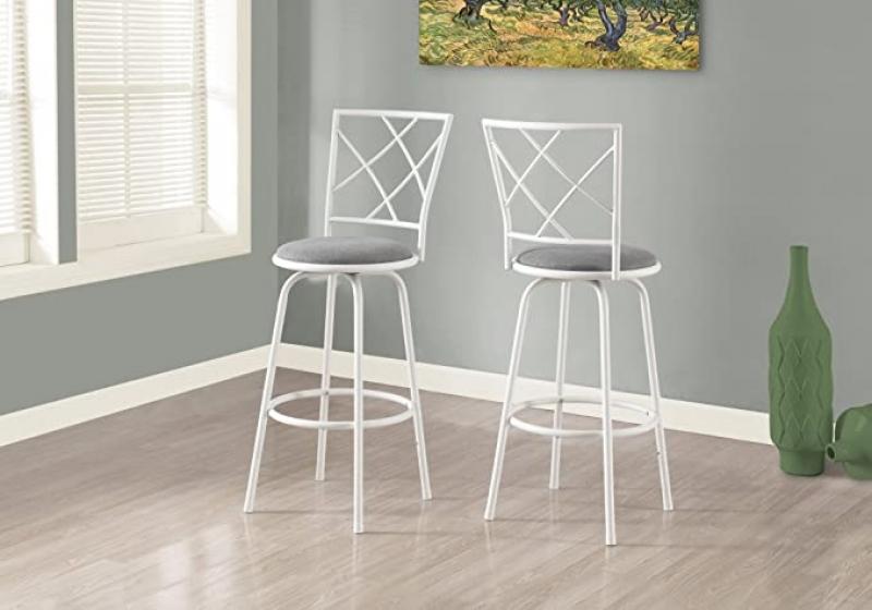 ihocon: Monarch 2 Piece Swivel Barstool 旋轉吧椅/高腳椅