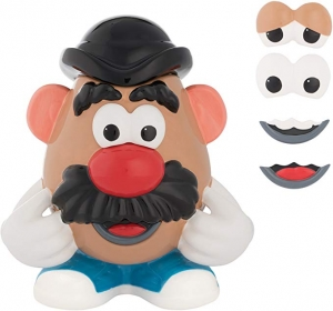 ihocon: Vandor 56041 Mr. Potato Head Ceramic Sculpted Cookie Jar, 10.5 x 8 x 11.75, Multicolor餅乾罐