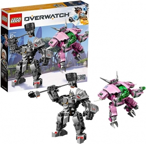 ihocon: LEGO Overwatch D.Va and Reinhardt 75973 Mech Building Kit (455 Pieces)