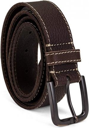 ihocon: Timberland Men's Leather Belt男士皮帶