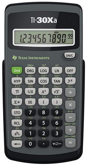ihocon: Texas Instruments TI-30Xa Scientific Calculator 德州儀器科學計算機