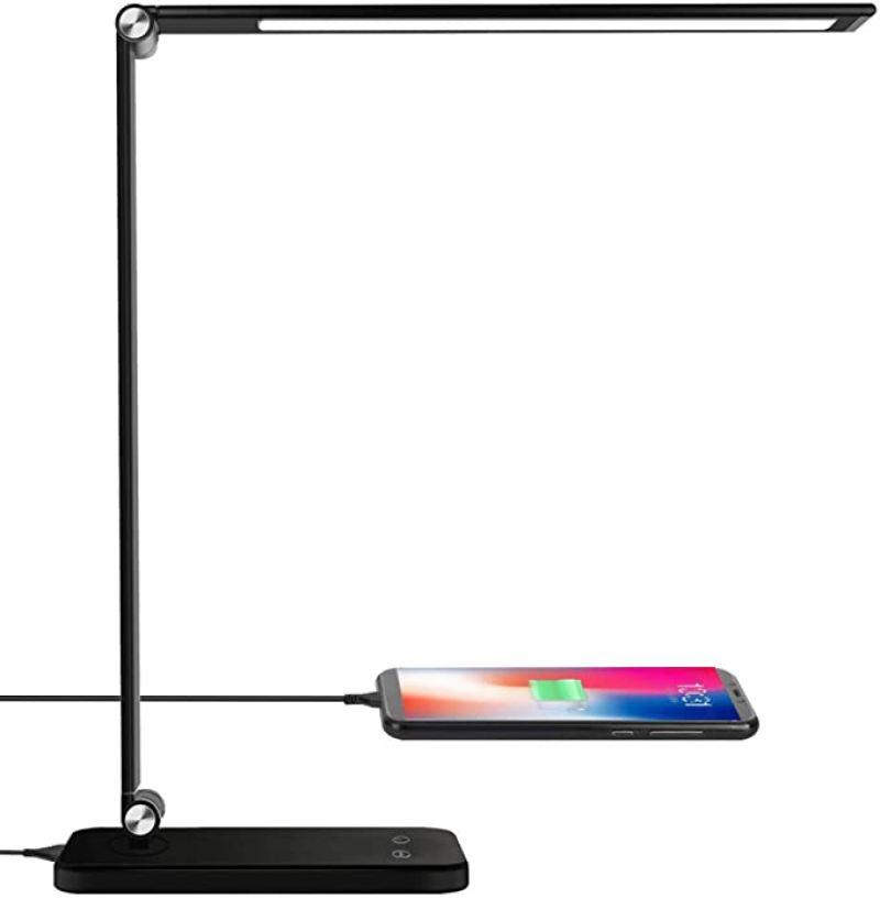 ihocon: AOBISI LED Desk Lamp 5 Lighting Modes with 3 Brightness Levels 光線微調LED護眼桌燈