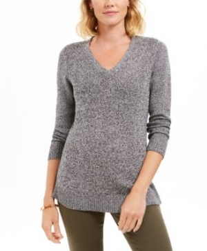 ihocon: Charter Club Marled-Knit Tunic Sweater 毛衣