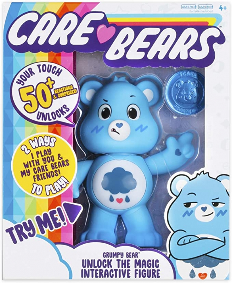 ihocon: Care Bears Grumpy Bear Interactive Collectible Figure 互動玩具