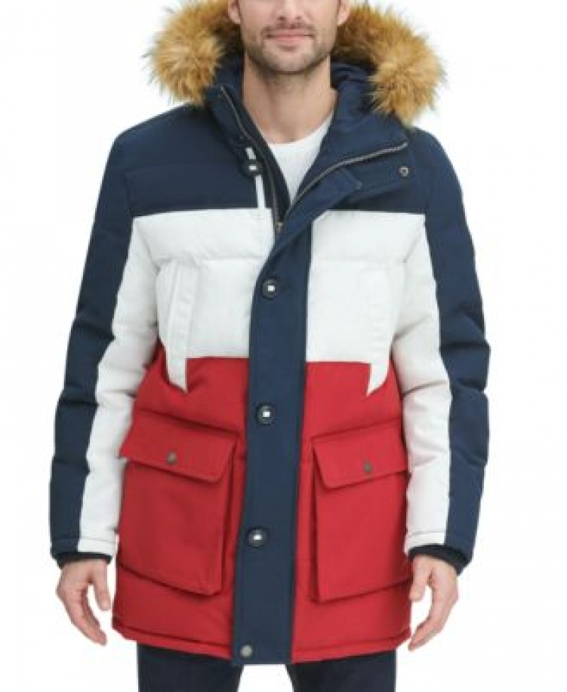 ihocon: Tommy Hilfiger Long Snorkel Coat 連帽長外套