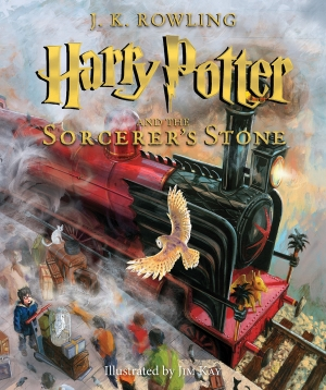 ihocon: Harry Potter and the Sorcerer's Stone: The Illustrated Edition (Harry Potter, Book 1) 哈利·波特與魔法石 手繪精裝本