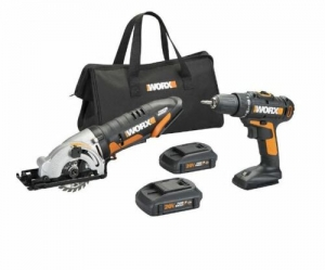 ihocon: WORX WX944L 20V Powershare Drill & Impact Driver combo Kit