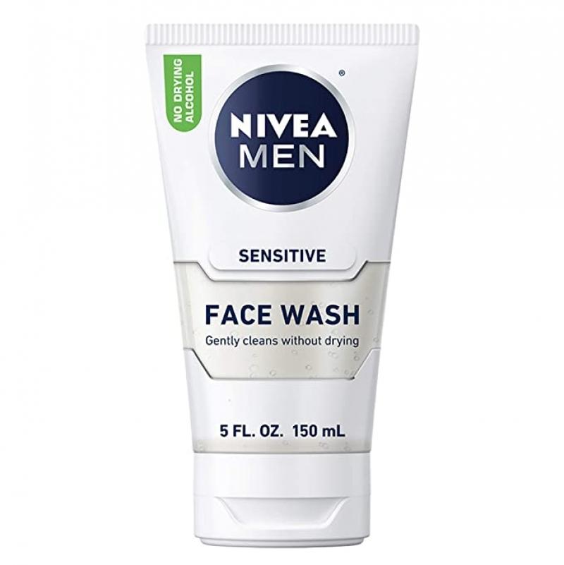 ihocon: NIVEA Men Sensitive Face Wash, 5 fl. oz. 男士洗面乳