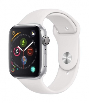 ihocon: Apple Watch Series 4 (GPS, 44mm) - Silver Aluminium Case with White Sport Band
