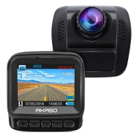 ihocon: AKASO 1296P HD 170° Wide Angle Dash Camera with Super Night Vision, G-Sensor高清行車記錄器