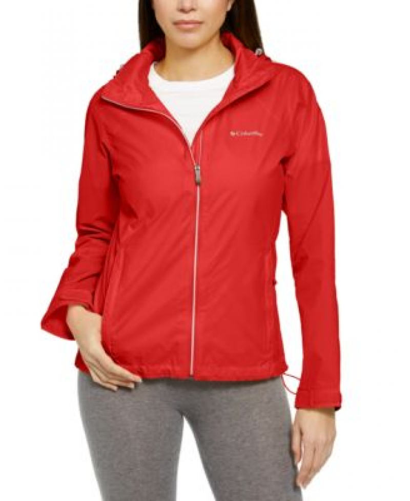 ihocon: Columbia Women's Switchback Waterproof Packable Rain Jacket 女士防水夾克