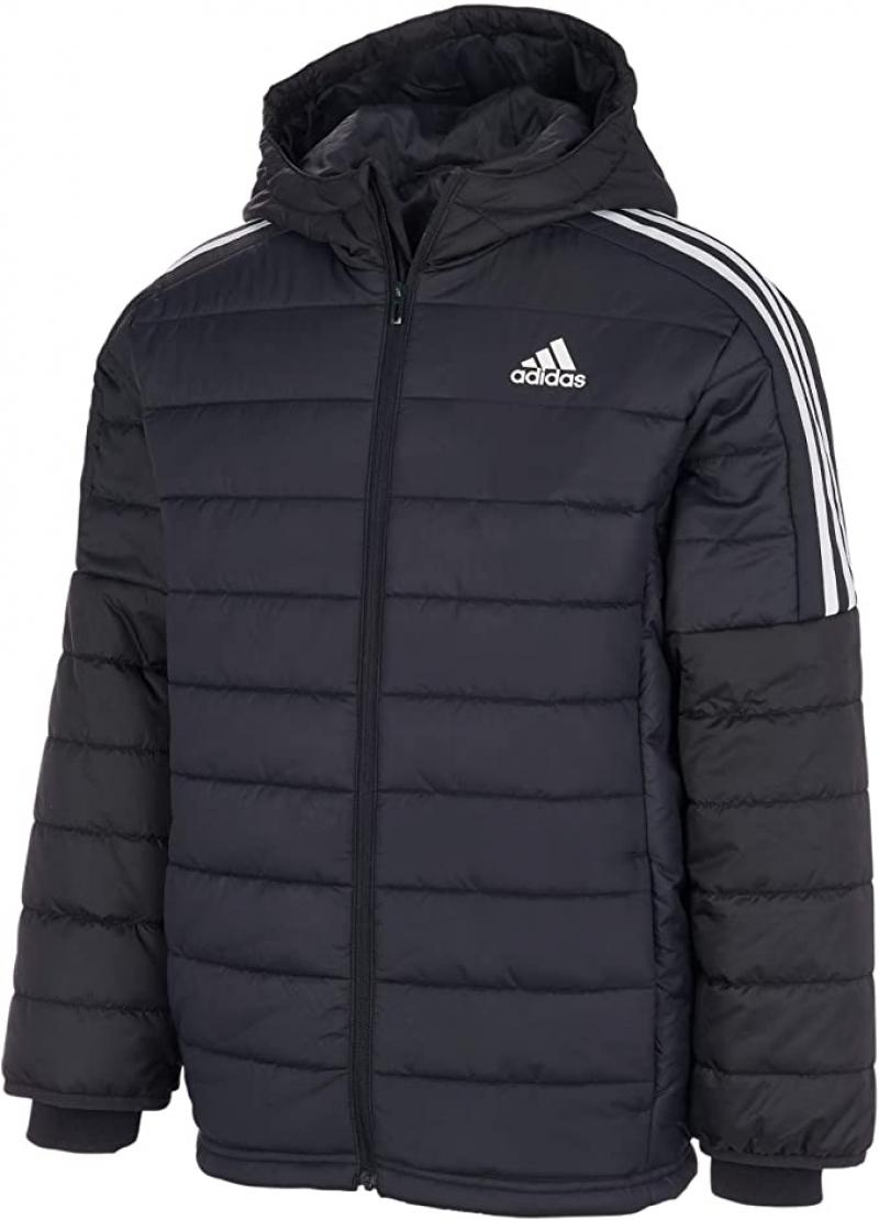 ihocon: adidas boys Hooded Puffer Jacket 男童連帽外套