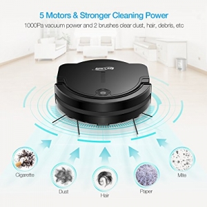 ihocon: Housmile 1000Pa Powerful Robot Vacuum Cleaner吸地機器人