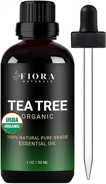 ihocon: Fiora Naturals Tea Tree Essential Oil (1 oz /30ml) 茶樹精油