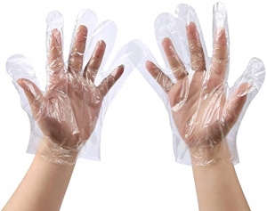 ihocon: 500 PCS Plastic Disposable Gloves 一次性手扒雞手套