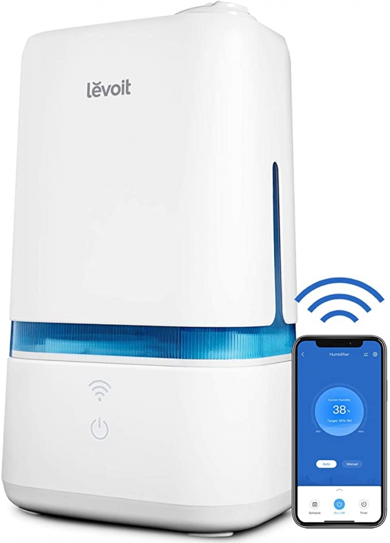 ihocon: Levoit Smart WiFi Cool Mist Humidifier with 4L Capacity 智能室內加濕器