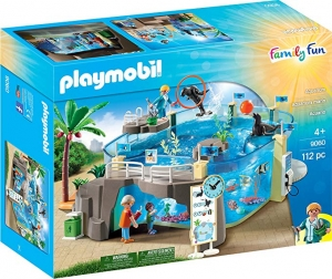 ihocon: PLAYMOBIL Aquarium Building Set 水族館組合積木