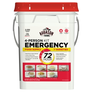 ihocon: Augason Farms 72-Hour 4-Person Emergency Food Storage Kit 14 lbs 7 oz  緊急食品套餐