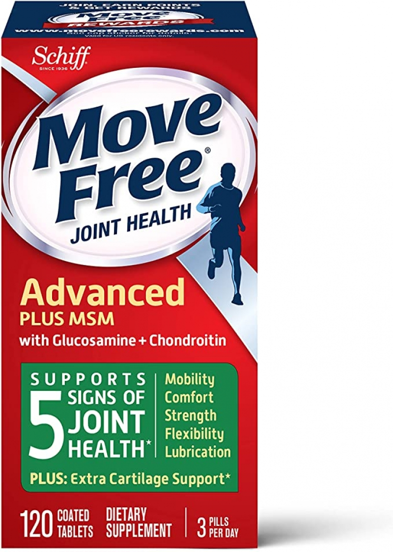ihocon: [關節保養] Move Free MSM 1500mg (per serving) With Glucosamine and Chondroitin (120 count)
