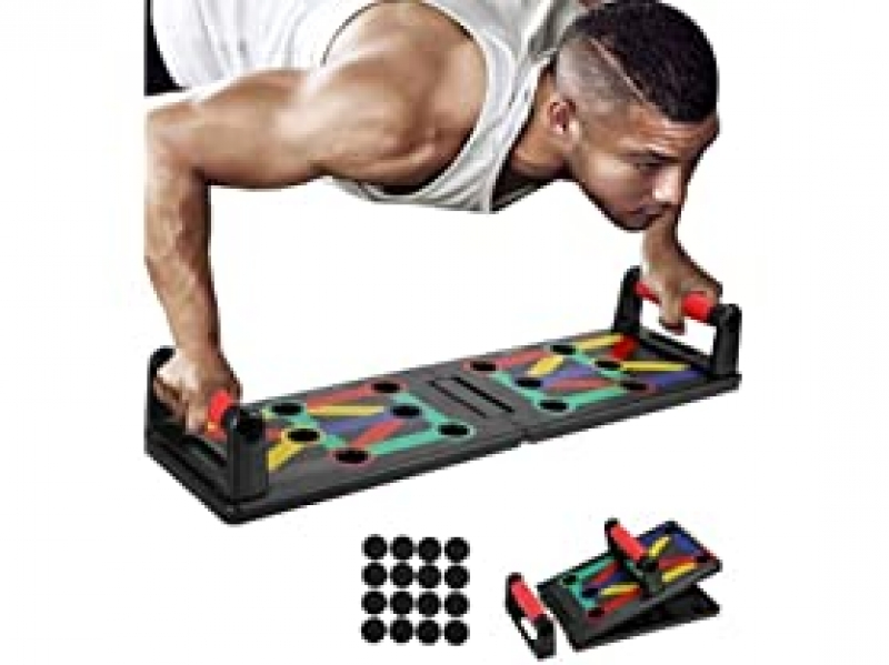 ihocon: Xtreme Time 9-in-1 Push Up Rack Board System 健身板