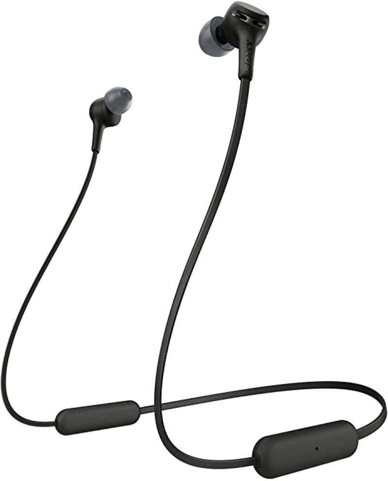 ihocon: SONY WIXB400/B Black Bluetooth Wireless In-Ear Headphones 藍牙無線耳機