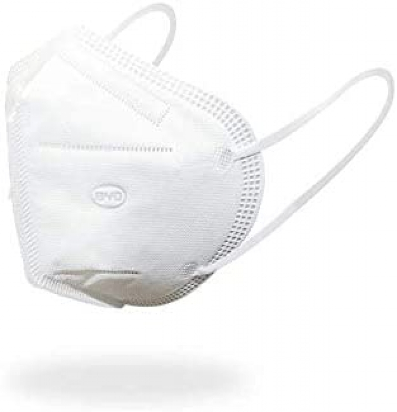 ihocon: BYD比亞迪 Disposable Respirator Mask with Ear Loop, Box of 50 一次性口罩