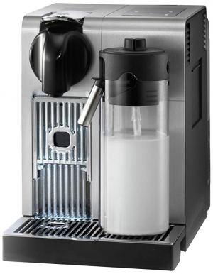 ihocon: Delonghi Nespresso Lattissima Pro Capsule Espresso and Cappuccino Machine with Milk Frother (Brushed Aluminum Chrome) 義式奶泡咖啡機