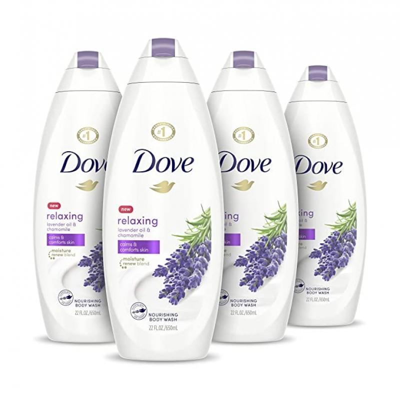 ihocon: Dove Body Wash 22 oz, 4 Count 沐浴乳