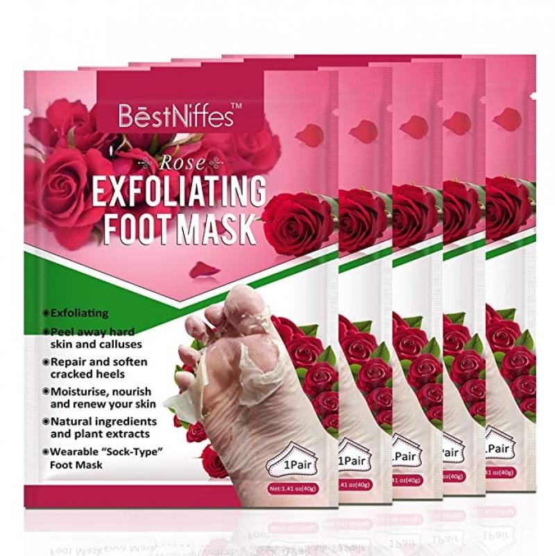 ihocon: BestNiffes Foot Peel Mask Exfoliating - 5 Pack 足膜