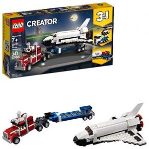 ihocon: LEGO Creator 3in1 Shuttle Transporter 31091 Building Kit , New 2019 (341 Piece)   太空梭