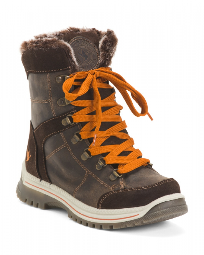 ihocon: [義大利製] SANTANA CANADA Made In Italy Insulated Waterproof Leather Boots 防水皮靴