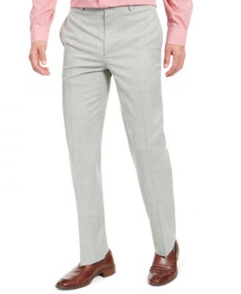 ihocon: Lauren Ralph Lauren Men's Classic-Fit UltraFlex Stretch Sharkskin Dress Pants   男士長褲