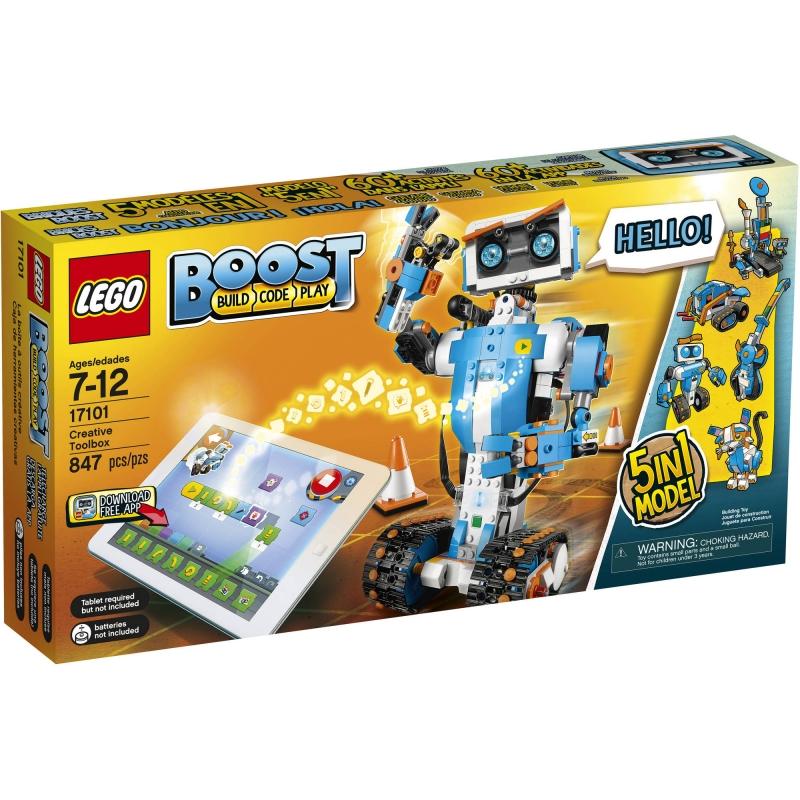 ihocon: LEGO Boost Creative Toolbox 17101 (847 Pieces)樂高兒童編碼學習機器人積木