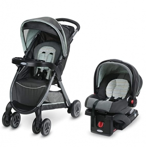 ihocon: Graco FastAction Travel System Stroller (Bennett)嬰兒推車及嬰兒汽車座椅