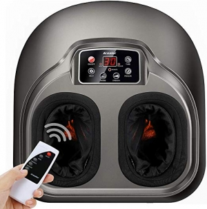 ihocon: Arealer Foot Massage with Deep-Kneading, Built-in Heat Function, Air Compression足部按摩機