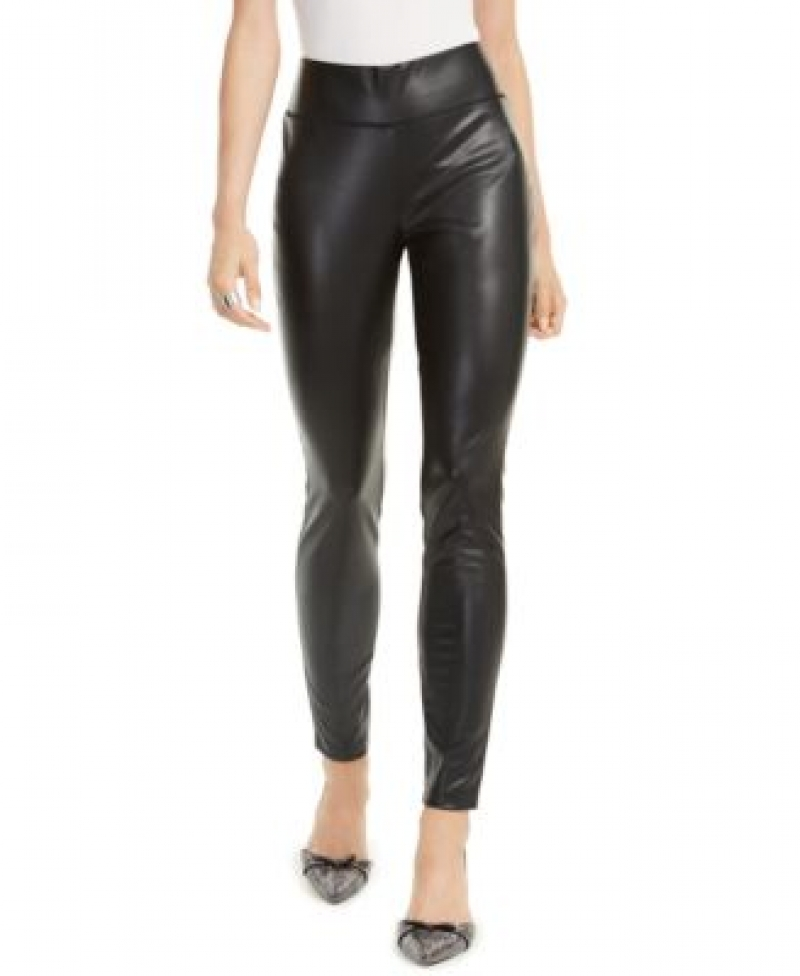 ihocon: INC International Concepts INC Faux-Leather Leggings 女士仿皮長褲-多色可選