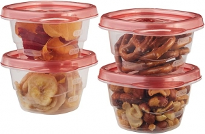 ihocon: Rubbermaid Mini Food Storage Containers, (0.5 Cup), (6 Pack)迷你食物保鮮盒