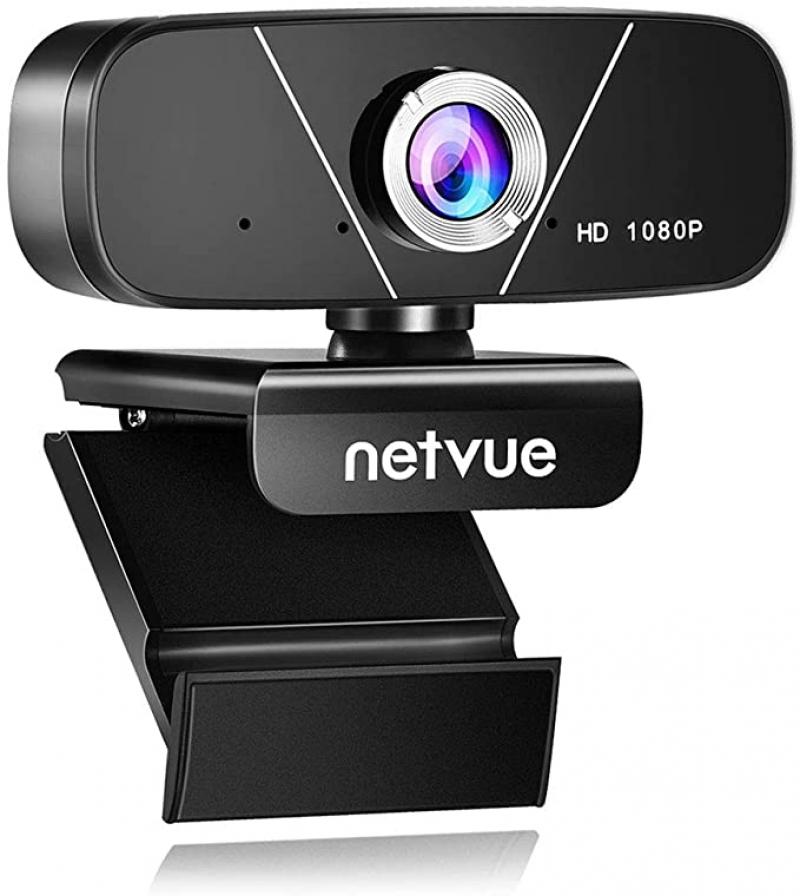 ihocon: Netvue 1080p HD Webcam with Microphone 網路攝像頭, 含麥克風