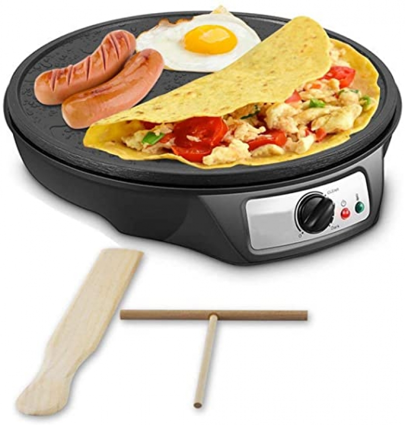 ihocon: J-Jati Nonstick 12-Inch Electric Crepe Maker 可麗餅機