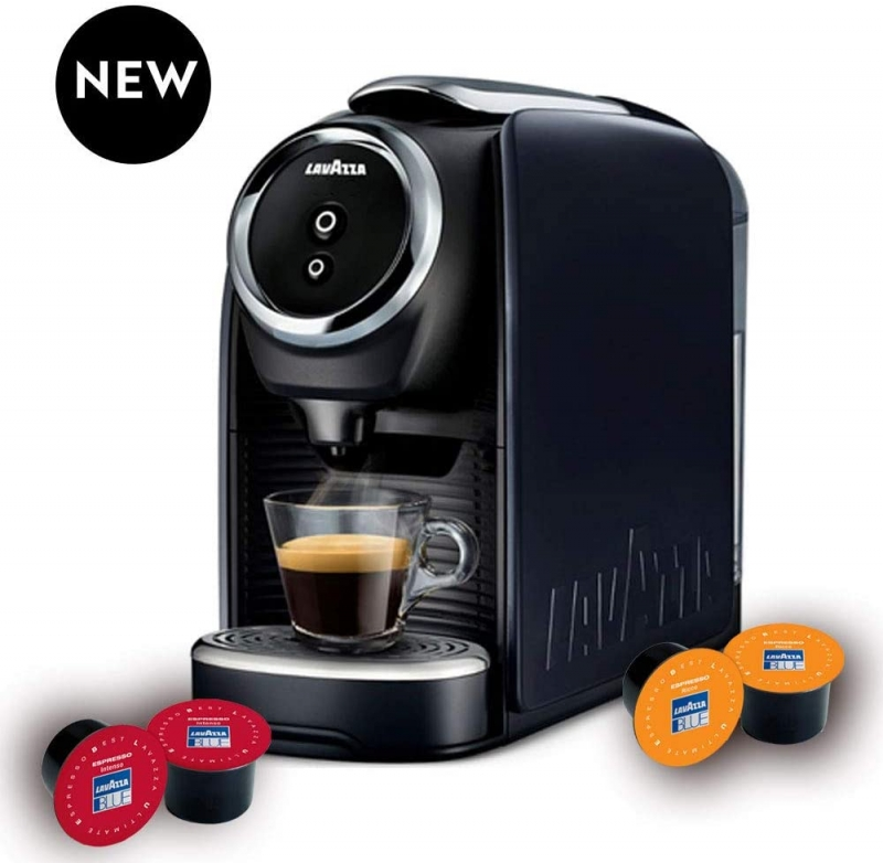 ihocon: Lavazza 041953000648 BLUE Classy Mini Single Serve Espresso Coffee Machine 迷你義式濃縮膠著咖啡機
