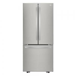 LG 21.8 cu. ft. 不銹鋼法式門冰箱 $998(原價$1,699)