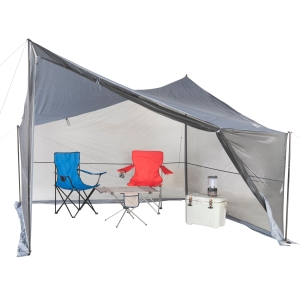ihocon: Ozark Trail Tarp Shelter with UV Protection and Roll-up Screen Walls 防紫外線遮陽帳