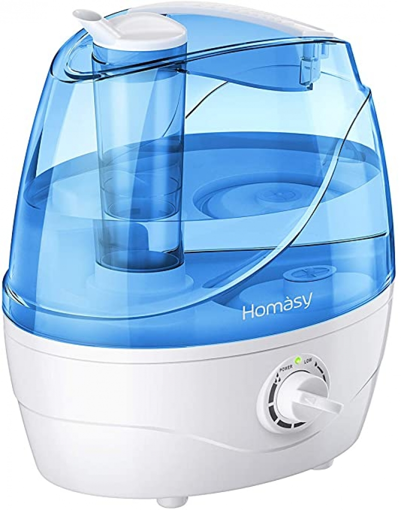 ihocon: Homasy 2.2L Quiet Ultrasonic Humidifier 超音波室內加濕器